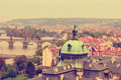 Center of Prague Royalty Free Stock Images