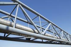 center raffinaderi västra siberia för oljepipeline Fotografering för Bildbyråer