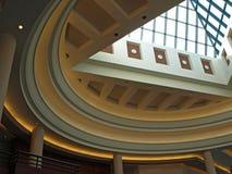 center regel för 2 atrium Arkivbilder