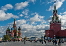 Center of Russia - Red square. Royalty Free Stock Photos