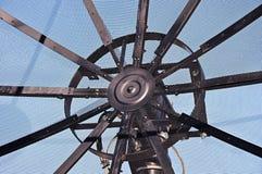 Center of a satellite dish Stock Photos