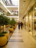 center shopping Arkivbild