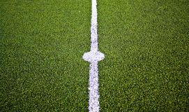 Center soccer field Royalty Free Stock Photo