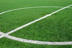 Center soccer field Stock Image