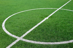 Center soccer field Royalty Free Stock Image