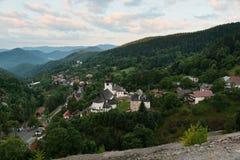Center of Spania Dolina, Slovakia Royalty Free Stock Photography
