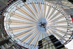 center spelrum sony för berlin byggnader Royaltyfria Bilder