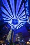 center spelrum sony för berlin byggnader Arkivfoto