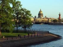 Center of St. Petersburg Stock Photos