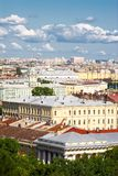 The center of St. Petersburg, Russia Royalty Free Stock Photo