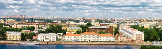 The center of St. Petersburg, Russia Stock Image
