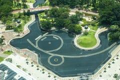 center stad kl Royaltyfri Foto