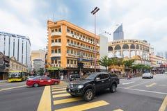 center stad Kuala Lumpur Arkivfoto
