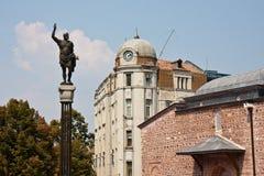 center stad plovdiv arkivbilder