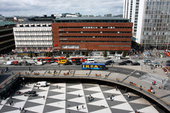 Center of Stockholm Stock Images
