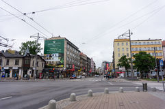 Center street Stock Photo