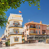 Center of torremolinos, andalusia Stock Photography