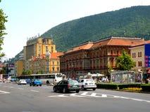 Center of  the town Brasov (Kronstadt), Transilvania, Romania Stock Image