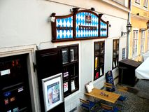 Center of the town, Győr, Hungary Stock Photography