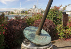 The center of Victoria - Old Fort (Vancouver Island) Royalty Free Stock Images