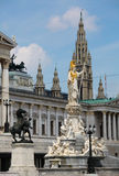 Center of Vienna Royalty Free Stock Images