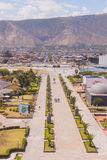 Center of the world, Mitad del Mundo, Ecuador Royalty Free Stock Image