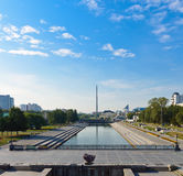 Center of yekaterinburg, Russia Royalty Free Stock Images