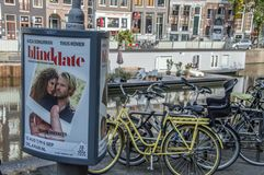 Centercom Billboard From The Theater Show At Amsterdam The Netherlands 2018 stock image