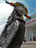 Centerfold da motocicleta Imagem de Stock Royalty Free