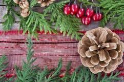 Centerpiece рождества стоковая фотография