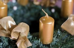 Centerpiece christmas Royalty Free Stock Photo