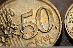 centesimo 50 Fotografie Stock Libere da Diritti