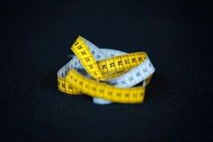 Centimètre de mètre de mesure Photo stock