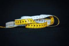 Centimètre de mètre de mesure Image libre de droits