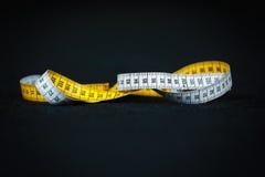 Centimètre de mètre de mesure Images libres de droits