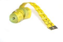 Centimètre jaune Photographie stock libre de droits