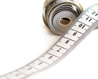 Centimeter tape Royalty Free Stock Image