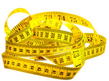 Centimeter of yellow color. Royalty Free Stock Photography