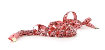 Centimetre ribbon Stock Photo