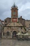 Centinela de la ciudad, museo de la etnología, Zadar fotos de archivo libres de regalías