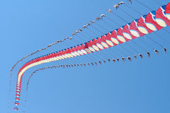 Centipede kite Royalty Free Stock Images