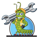 Centipede Mascot Stock Photography