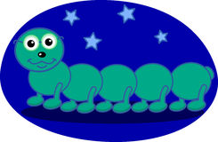 Centipede the night Stock Photo