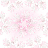 Centle pink seamless pattern Royalty Free Stock Photos