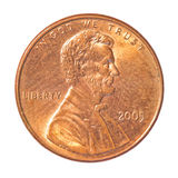 centmynt ett Royaltyfri Bild
