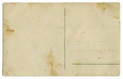 Cento anni appoggiano la cartolina fotografie stock libere da diritti