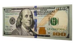Cento banconote in dollari 003 Fotografia Stock