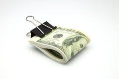 Cento dollari Immagine Stock Libera da Diritti
