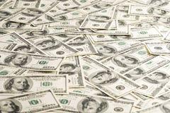 Cento dollari Fotografia Stock Libera da Diritti