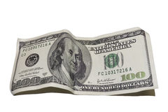 Cento dollari Immagini Stock Libere da Diritti